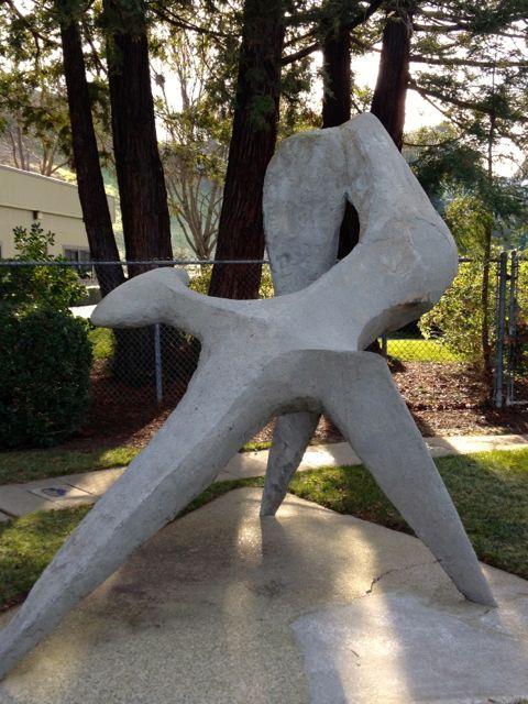 Statue Doris Eaton