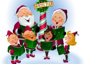 Christmas Caroling 2