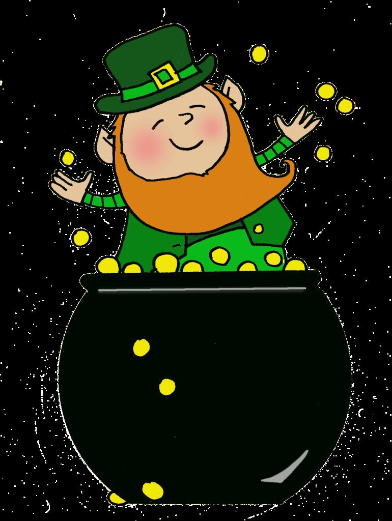 Pot of Gold Leprechaun