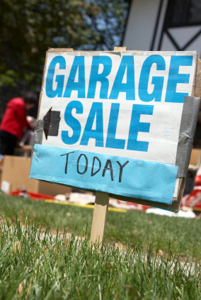 Fill your weekend with garage sales, art and wine