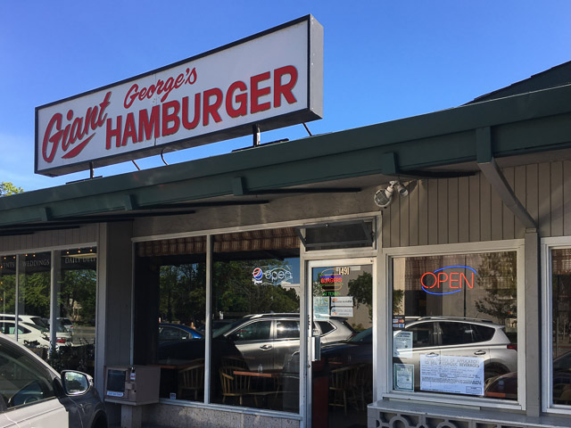 George's Giant Hamburgers – new and improved!