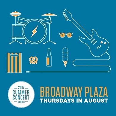 Broadway Plaza summer concert series kicks off tonight!