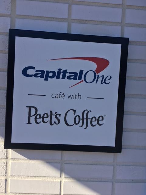 Have you been to the Capital One cafe?
