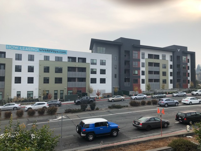 New housing going up in Walnut Creek