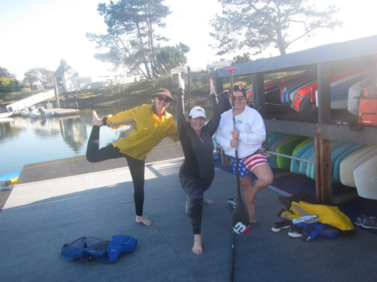 Road Trips: SUP Yoga!