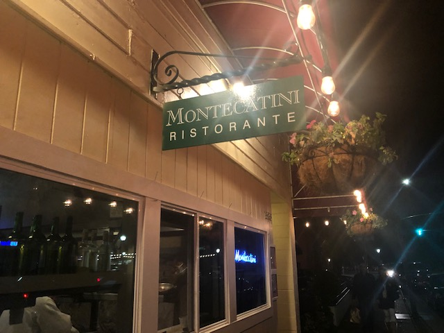 A good Italian meal at Montecatini Ristorante