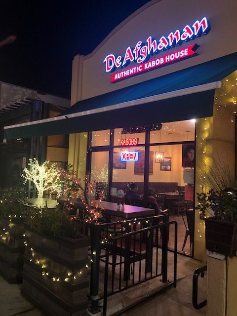 DeAfghanan is a new flavor in Walnut Creek