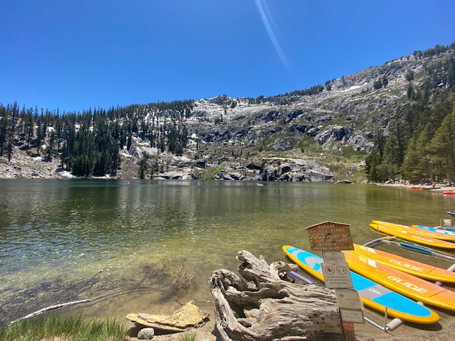 Angora Lakes, worth the visit, but please don't go!